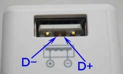 USB端子配列