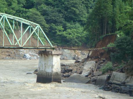 只見線只見川第5橋梁