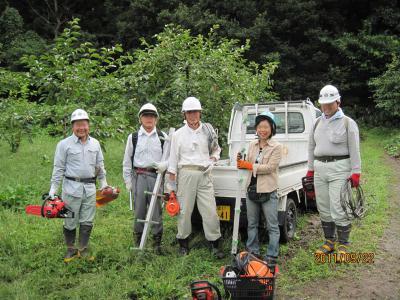 09-22掛かり木処理研修会- 005 (10)