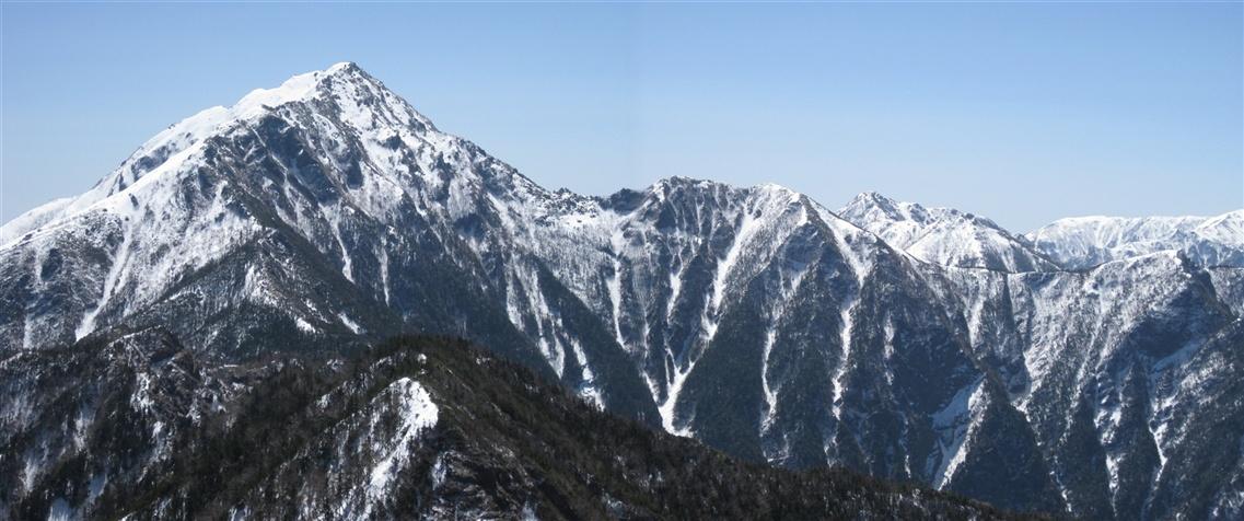 甲斐駒ヶ岳3