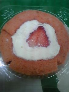 プレミアムあまおうのロールケーキ 2