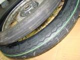 プレスカブ タイヤ交換3