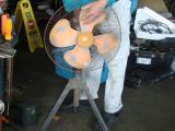カブ50 C50/大型扇風機-2