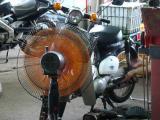 カブ50 C50/大型扇風機