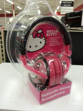 キティ ヘッドフォン
