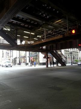 シカゴ 高架下