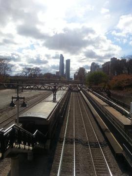 シカゴ 線路