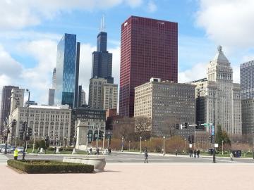 シカゴ 高層ビル2