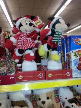 サンタミッキーミニー