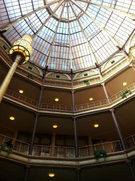 古いホテル