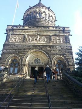 ガーフィールド大統領ゆかりの寺院