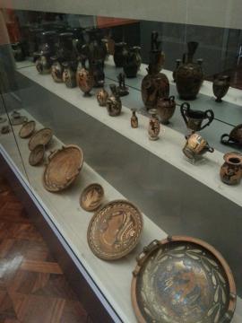 考古学博物館 展示1