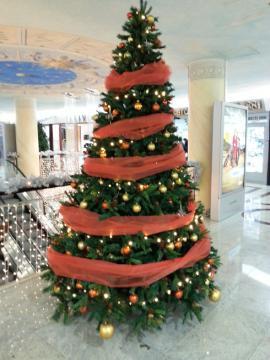 ザグレブのクリスマスツリー