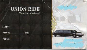 タクシー 領収書