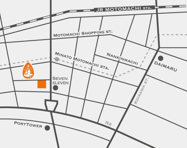 【海遊散歩】写真展 in 神戸 地図