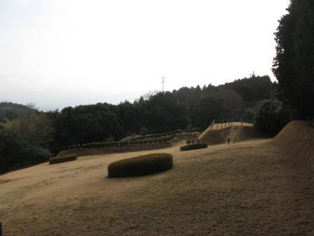 山中城址二の丸跡