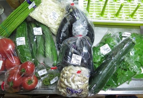 道の駅 花の里いいじまで買った野菜