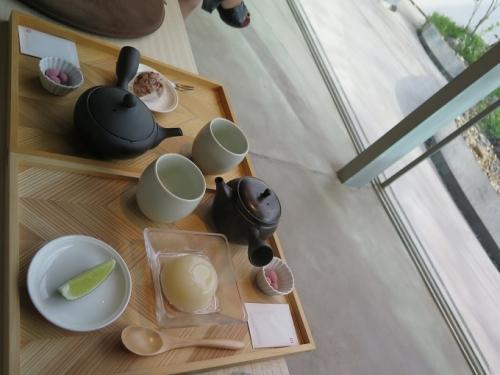 五穀屋さんでお茶
