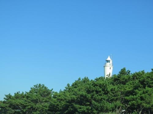 浜名バイパスから見える灯台