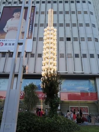 名古屋 栄 街灯