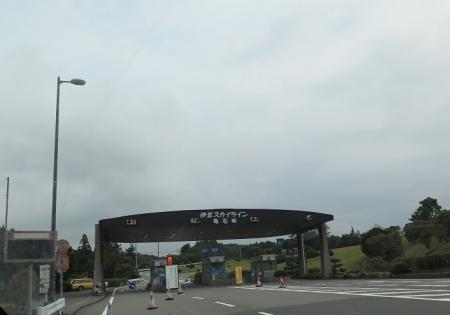 伊豆スカイライン 亀石峠インター
