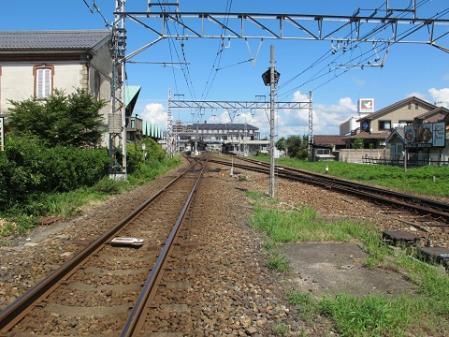 JR北陸本線線路
