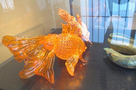 ガラスの金魚