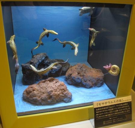 海洋堂フィギュアミュージアム モササウルス