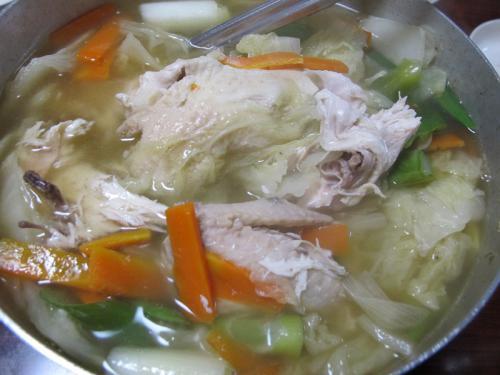参鶏湯風鍋