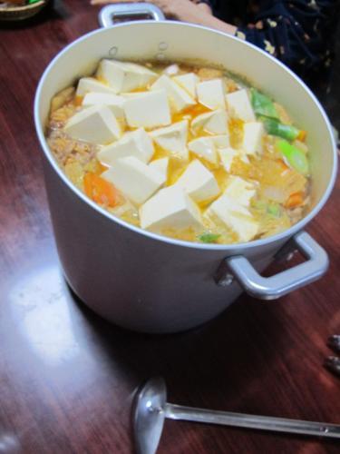 タンタンゴマ鍋
