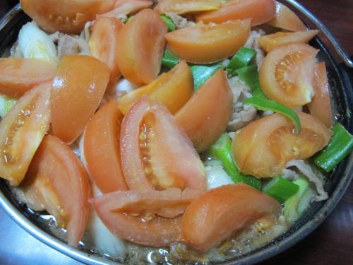 リサイクル・トマトすき焼き