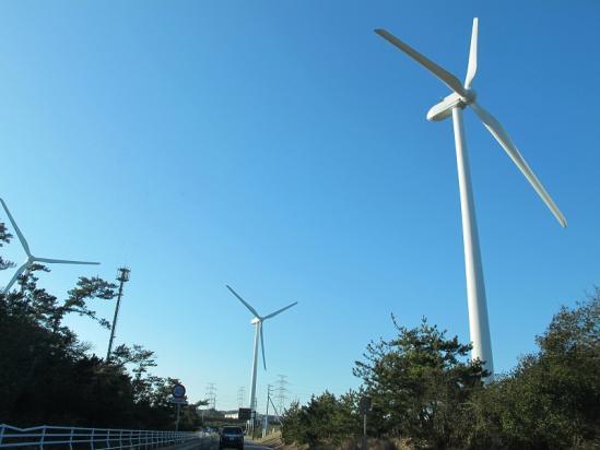 御前崎 風力発電