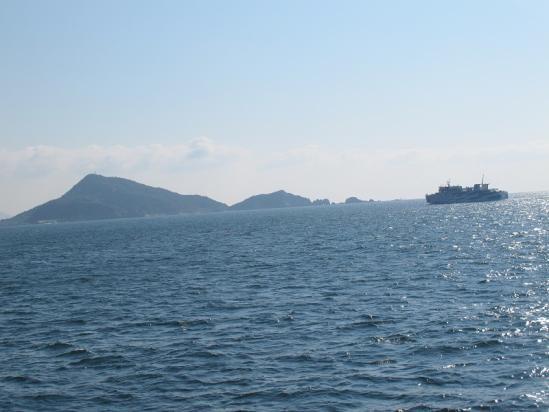 神島と伊勢湾フェリー