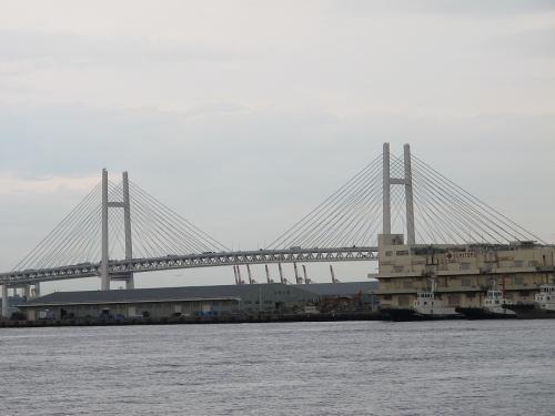 横浜港 ベイブリッジ