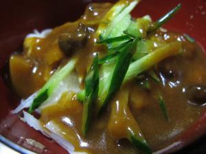 レトルトカレー素麺
