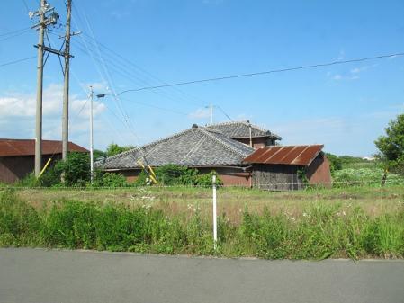 沖縄の家に似ている・・・
