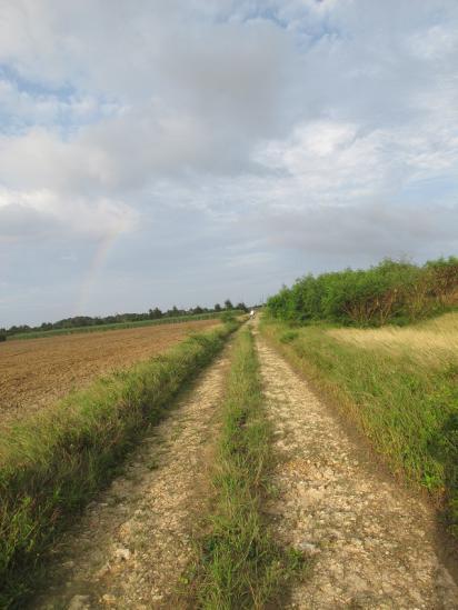 波照間の虹