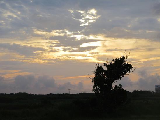 波照間島の朝