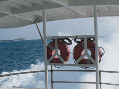 高速船から・・・