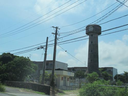 石垣島 給水塔