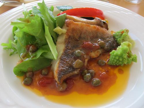 季節魚と地物初夏野菜