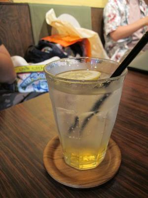 柚子蜜ジンジャーティーソーダ