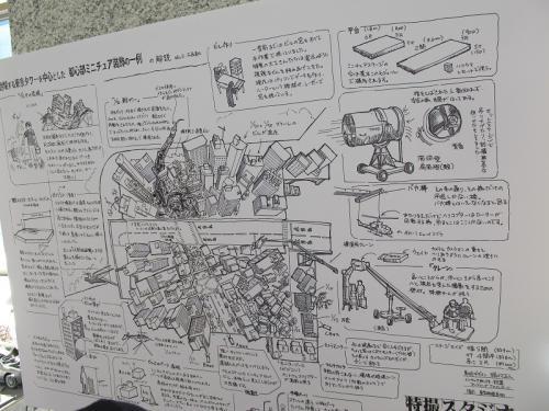 東京都心部ミニチュア