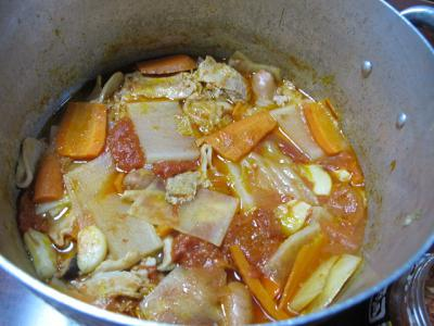 豚肉と野菜のトマト煮