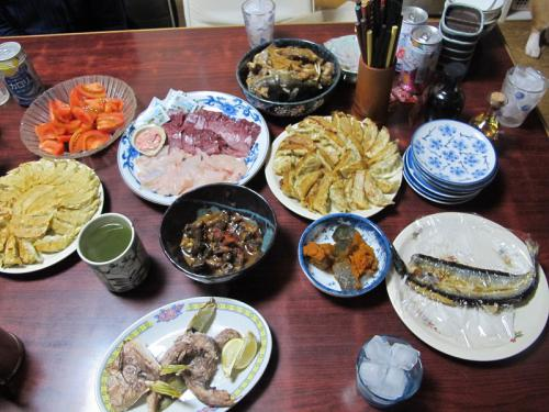 12月27日の晩ご飯