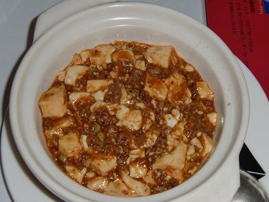 まーぼう豆腐