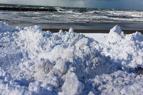 雪捨て場20140114_133047