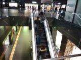 京都のエスカレータ