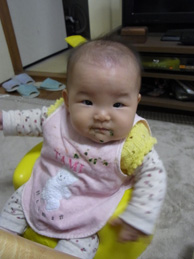 ホウレンソウも食べたよ。