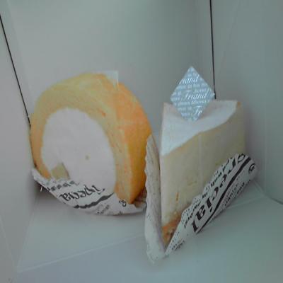 チーズケーキ 天使の羽根ロール